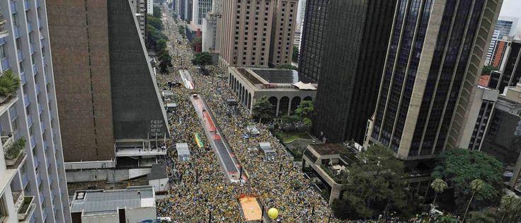 Manifestantes temem confrontos na Paulista em protesto do dia 13/03/2016 - Portal do Tocantins