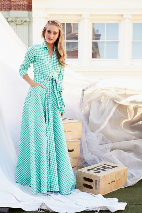 Share your Shabby!  Central Park Dress Green