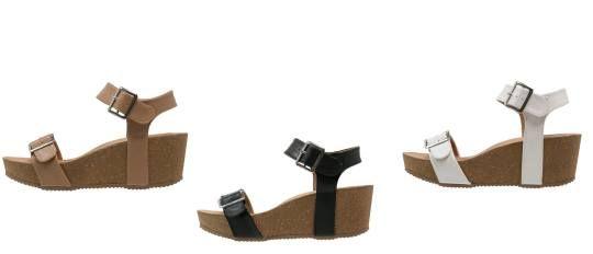 Anna Field Sandalias Con Plataforma White sandalias calzado white sandalias plataforma Field Anna Noe.Moda