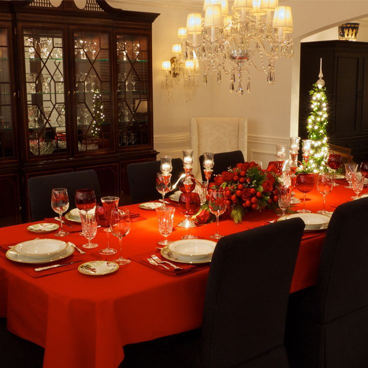 Christmas Decoration For Dinner Table : Images about christmas table decorations on