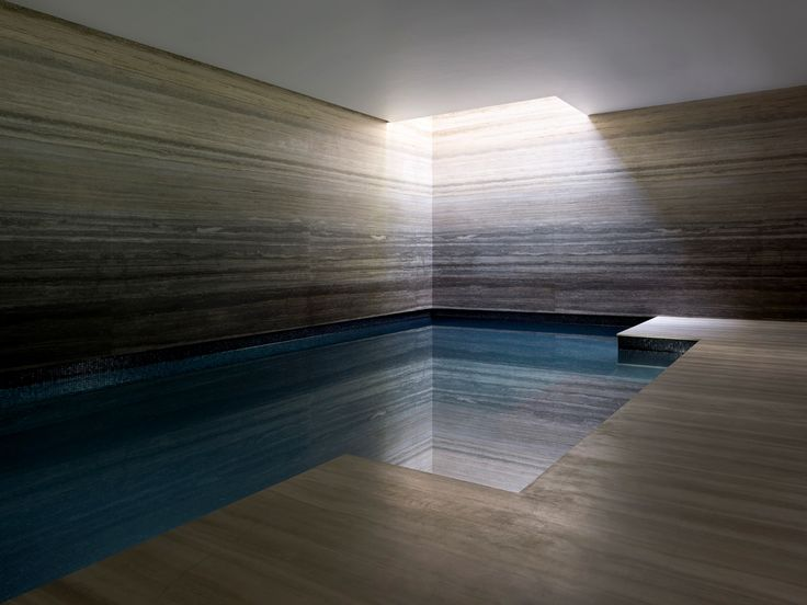 One of my project for Finchatton - very proud - Chelsea Townhouse private swimming pool | London | Lifschutz Davidson Sandilands