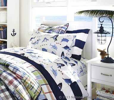 Want the shark sheets for J's room
