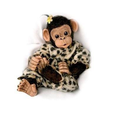 Amazon Com Little Ubu Lifelike Baby Chimpanzee Monkey