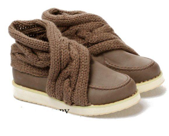 Lovely weaving knitting wool elegant comfortable leisure shoes single women shoes