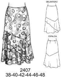 Image result for faldas largas de moda