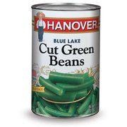 Hanover Blue Lake Cut Green Beans, 50 oz