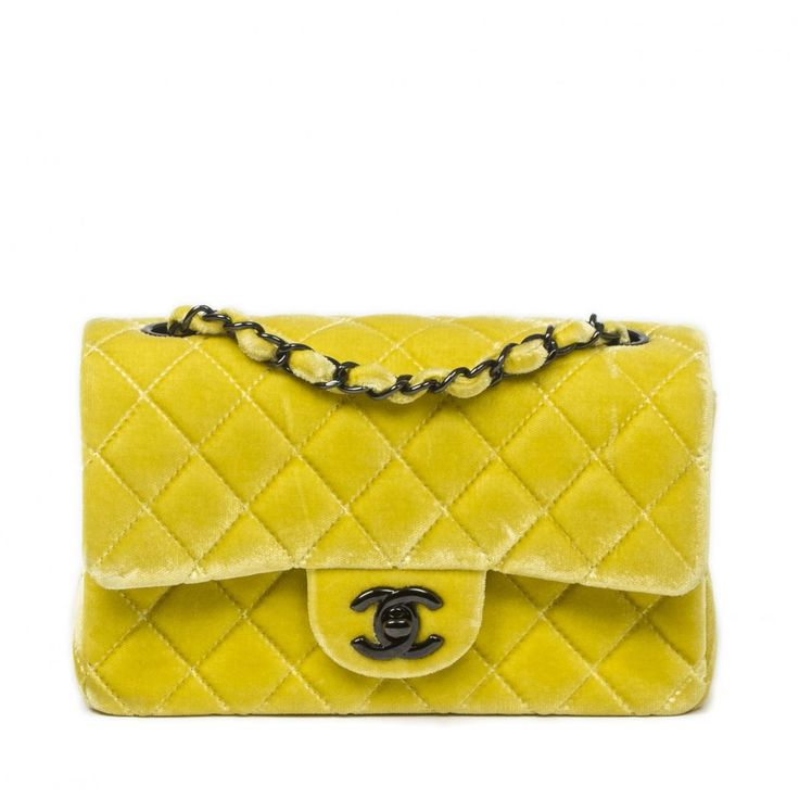 Chanel Yellow Timeless Bag | Vestiaire Collective