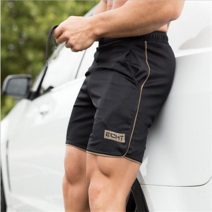 >> Click to Buy << hot 2017  Quality Cotton brother summer shortsmuscles tide male fitness breathable loose five minutes of gyms Men Joggers  #Affiliate