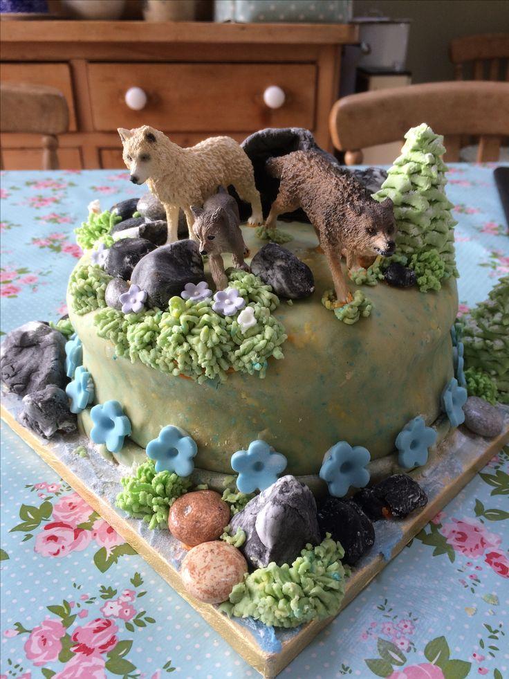 Wolf cake for Frida