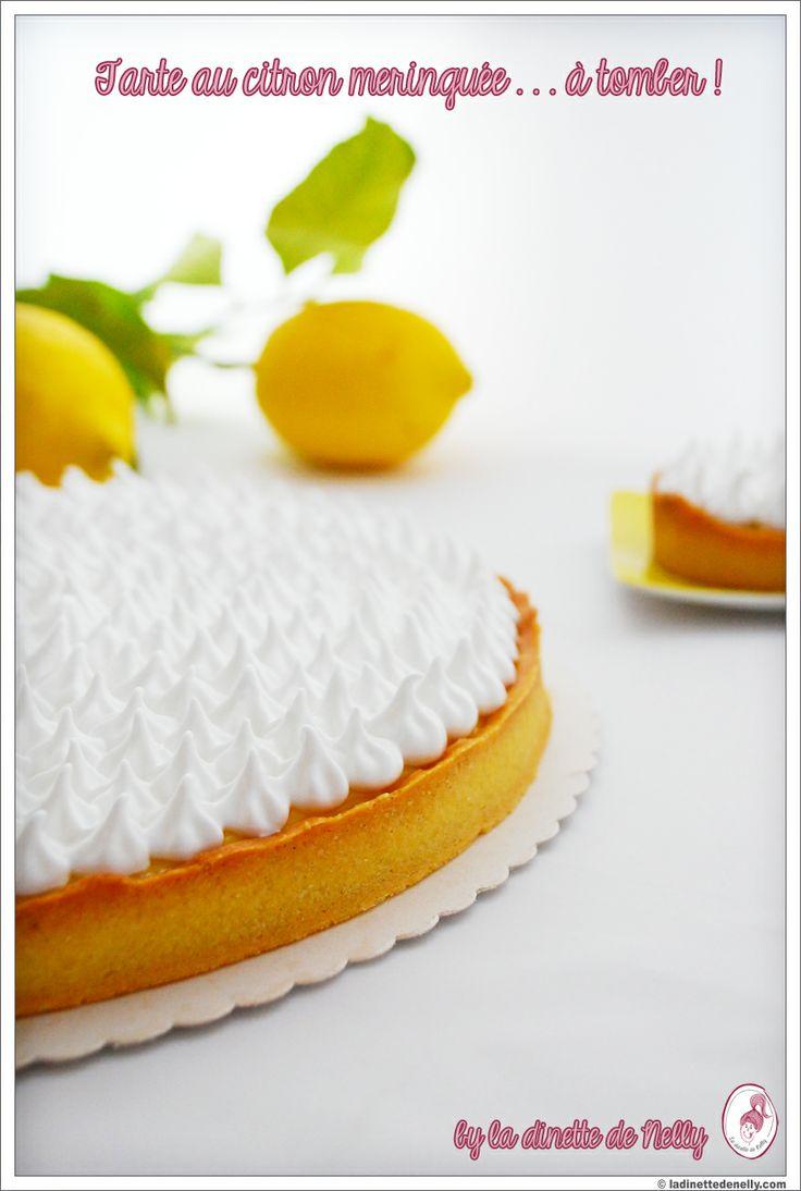 La dinette de nelly tarte au citron meringu e tomber recette de pierre herm pierre - Tarte au citron meringuee facile et rapide ...