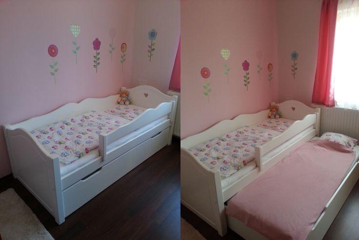 Bonita ágy  kihúzható vendégággyal