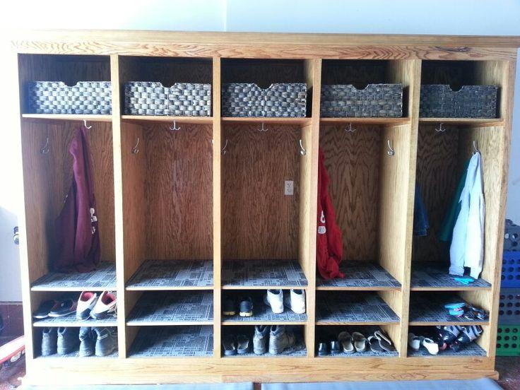 Mudroom Storage Garage : Mudroom lockers in the garage for home pinterest