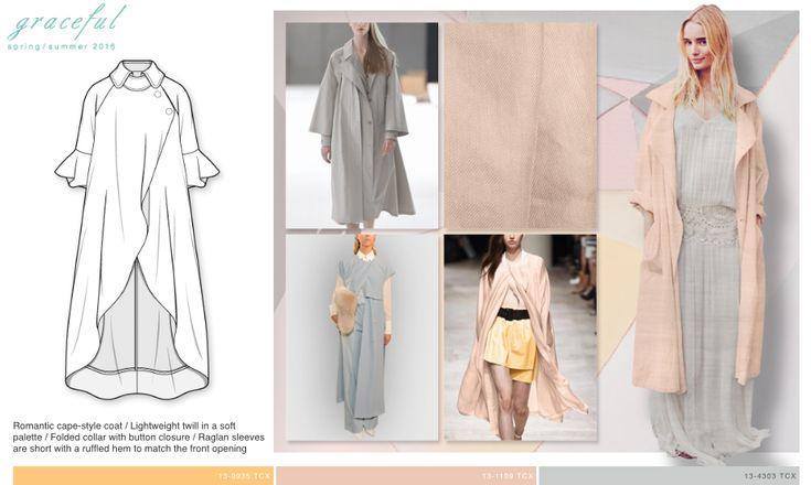 WGSN Outerwear | SS 16 / SILHOUETTES | Pinterest