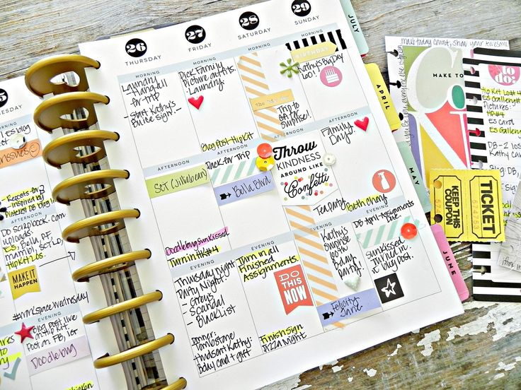 Create 365 the happy planner happy planner spreads for Happy planner ideas