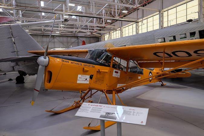 RAF Cosford Auster