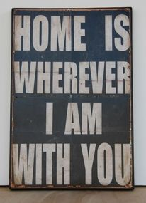 Home deco!!! A song from our wedding!