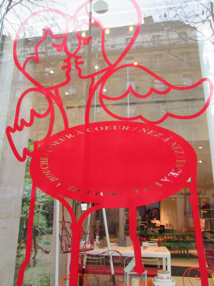 The Ange chair designed by Jean-Charles de Castelbajac