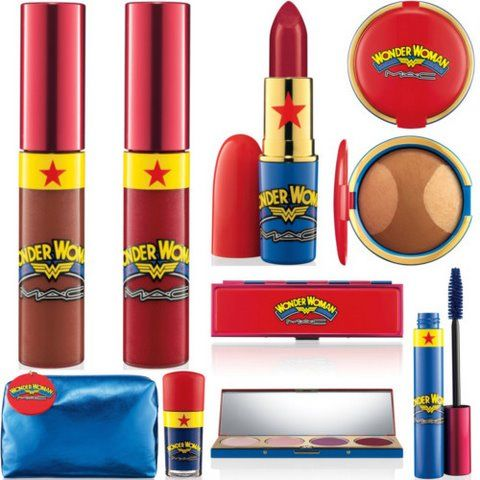 MAC Wonder Woman collection.... I am not into makeup but this is the shit!!!