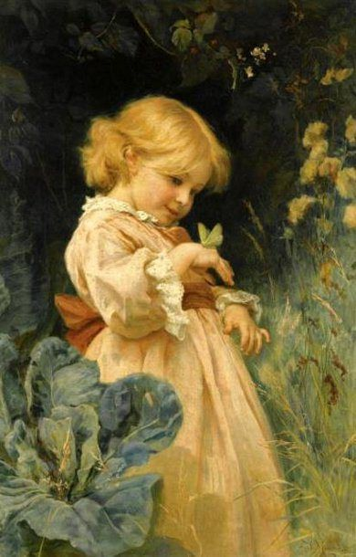 The Butterfly-Frederick Morgan (1847 – 1927, English)