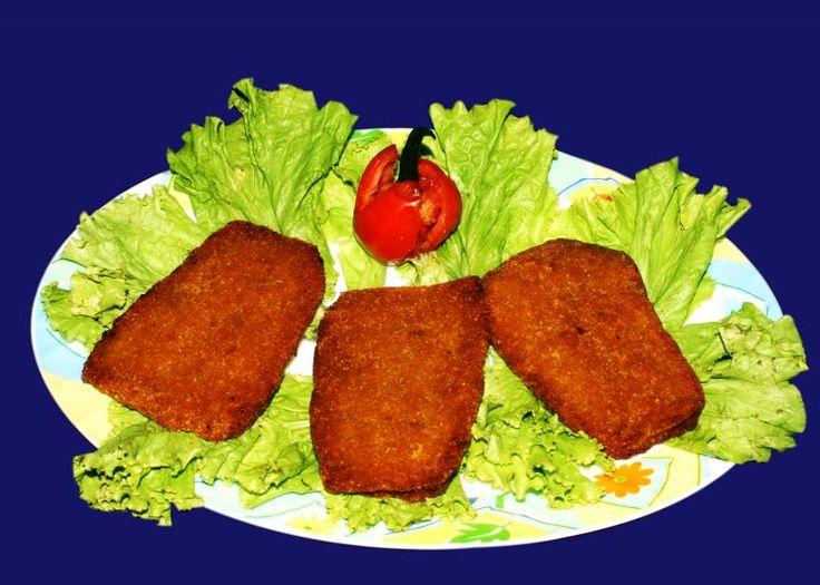 BENGALI FOOD RECIPE: Bhetki macher chop/fish fry