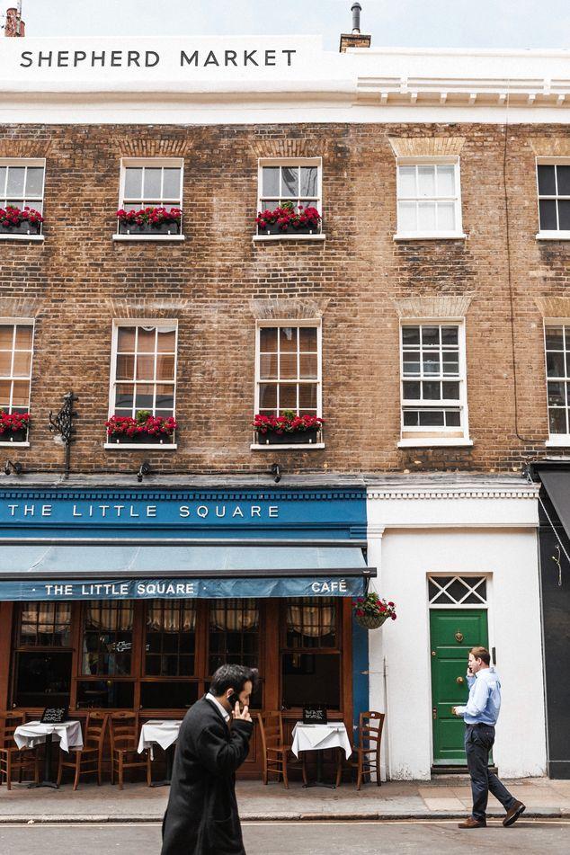 A 15-minute walk away is Mayfair's Shepherd Market, the scene of countless assignations.