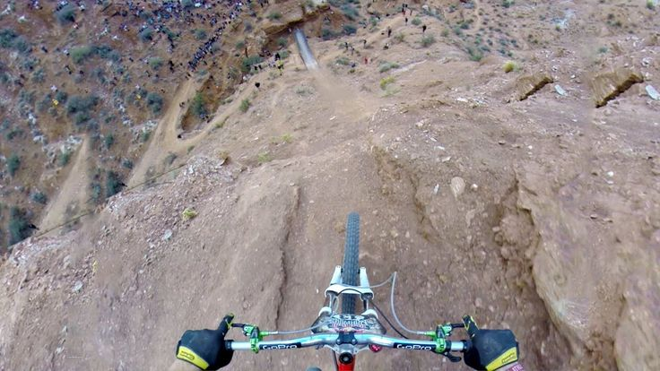 Insane mountain bike riding. Backflip Over 72ft Canyon - Kelly McGarry Red Bull Rampage 2013 - YouTube