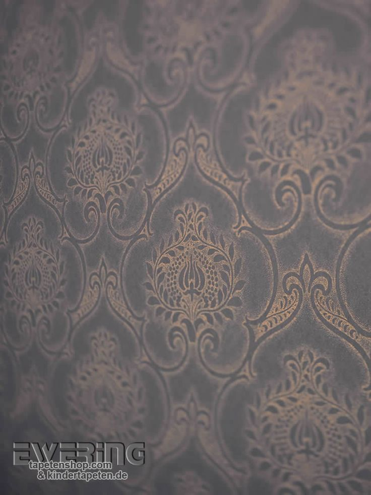 Midnight 10 - Ornament-Tapeten verleihen einen Hauch Orient im Schlafzimmer.