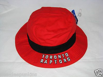 Toronto Raptors Red Lifestyle Bucket hat large - XL Adidas NIP