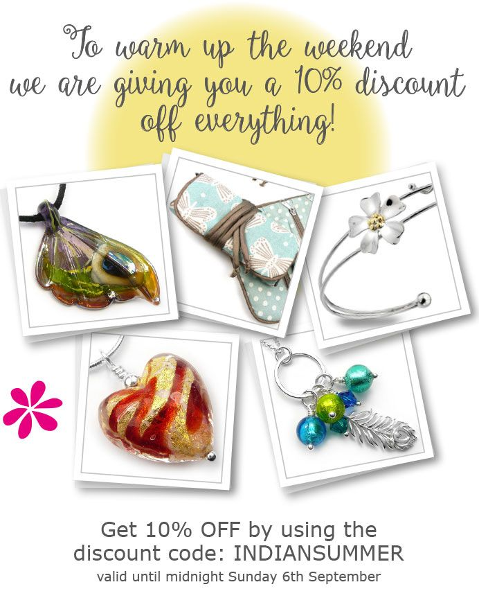 Shop with 10% off everyting!