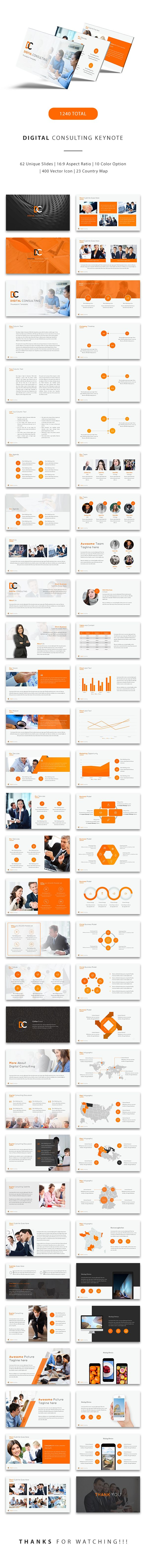 Digital Consulting Keynote Template