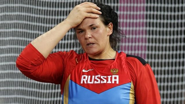 """RUSADA executive director Nikita Kamayev said the World Anti-Doping Agency (WADA) was conducting an investigation after one of Pishchalnikova's samples tested positive for an anabolic steroid.      """"WADA asked RUSADA to take a sample from Pishchalnikova. The test found the presence of a heavy substance (anabolic steroid),"""" Kamayev was quoted as saying by local media.      """"The test came out positive - it's a fact and now we must wait for the official statement."""""""