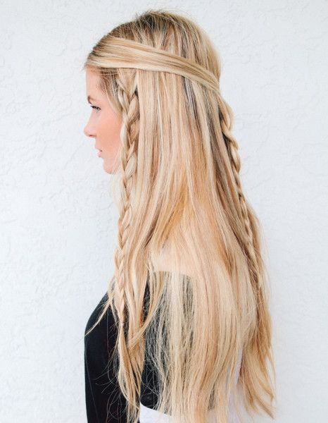 Hippie Braids - Easy Back to School Hairstyles to Let You Sleep In Later - Photos