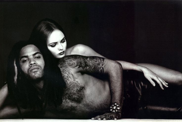 Vanessa Paradis&Lenny Kravitz