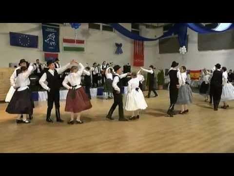 Ungarndeutsche Volkstanzgruppe aus Saar/Ungarn   XV. Tanzgala Tanzfolge