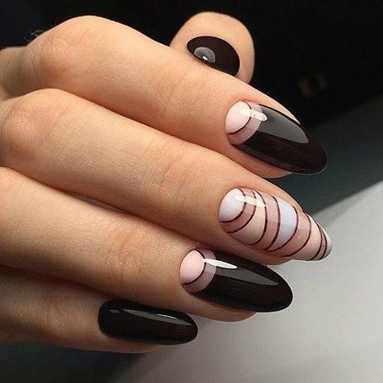 Картинки по запросу геометрия на ногтях | Гвоздь, Ногти и ...