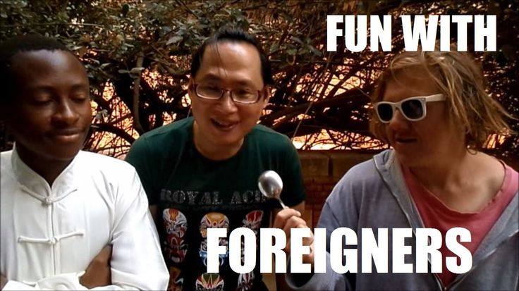 FUN with FOREIGNERS! (International Day on Campus)
