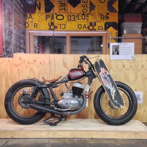 motomood:  jawa-cz:1971 Jawa bobber Jawa forever | eternal love #motorcycles #bobber #motos | caferacerpasion.com