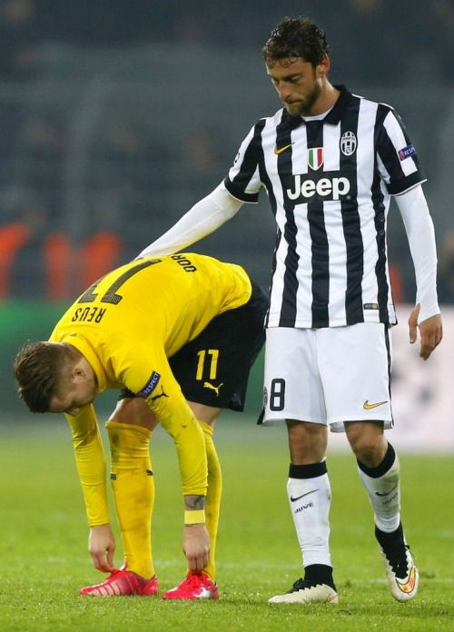 Marco Reus and Claudio Marchisio