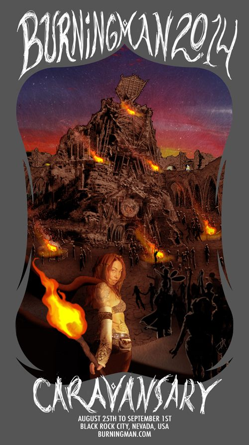 Burning Man's 2014 theme: Caravansary via @CNET