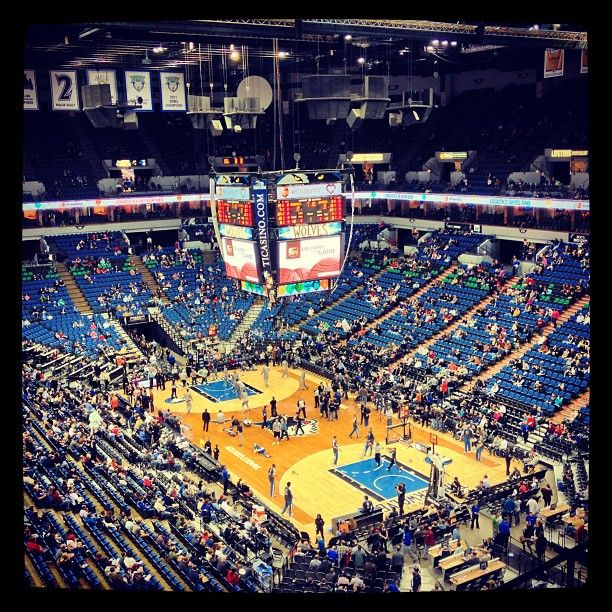 Watch the Minnesota Timberwolves and the Minnesota Lynx play at the Target Center in Downtown Minneapolis.