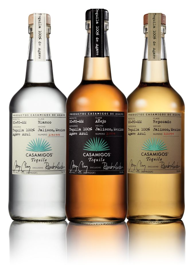 "CASAMIGOS Tequila. I'm no tequila connoisseur but this is as they say ""freakin delicious"".  I had one more than I should have and will stand by my review.. this is freakin delicious tequila.  Add a little lime and you are now in Cabo w/ Clooney! Salud!"