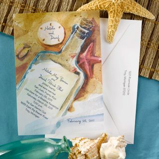 Beach Wedding Invitations Wording Ideas |