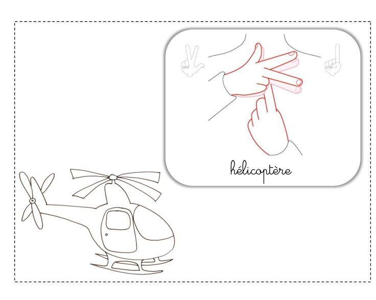 hélicoptère illustration LSF