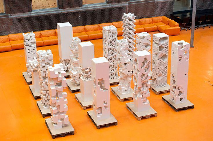 "MVRDV Builds ""Porous City"" Exhibition with LEGOs in Cannes (Photo: Frans Parthesius)   Bustler"