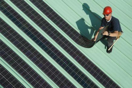 Paneles solares orgánicos más baratos y flexibles