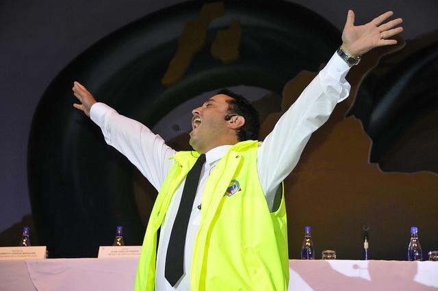 El gran comediante Andrés López participó en el lanzamiento de nuestro Plan Corazón Verde