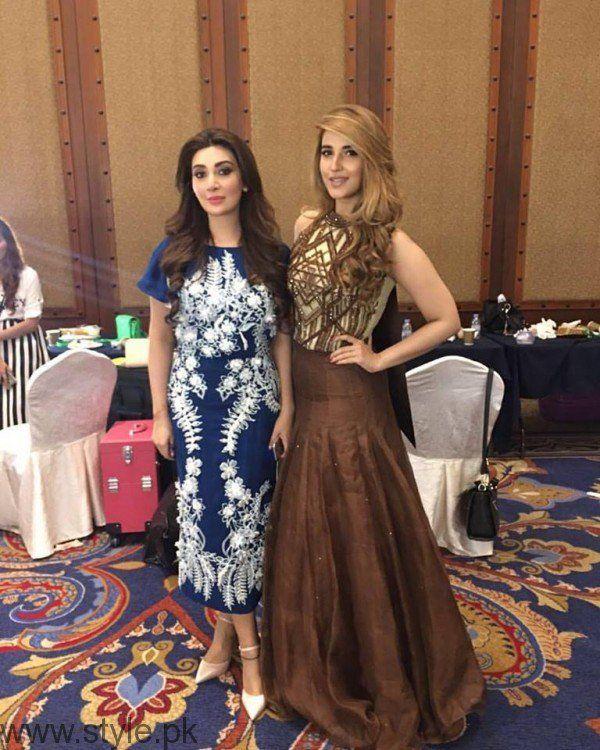 Hareem Farooq With Ayesha Khan