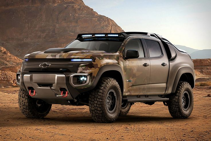 You won't see it at your local dealership anytime soon, but some of the tech being tested in the Chevrolet Colorado ZH2 might just make it into your ride someday. GM worked with the U.S. Army Tank Automotive Research, Development...