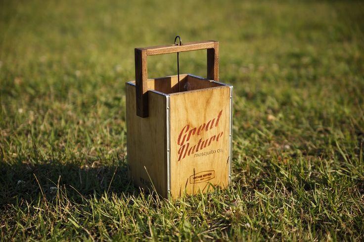 #box #smokebox #camping #wooginoki #wood #handmade #outdoor #woodensmokebox #mosquito #repellent #incense