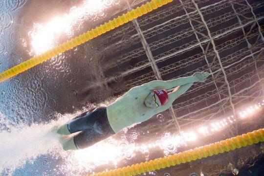 100m Breaststroke World Record breaker, Team GB swimmer Adam Peaty